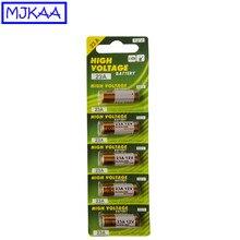 MJKAA 5 шт. 23A 12 В щелочные батареи 23A12V батареи 21/23 A23 E23A MN21 RC для дистанционного управления Лер дверной Звонок