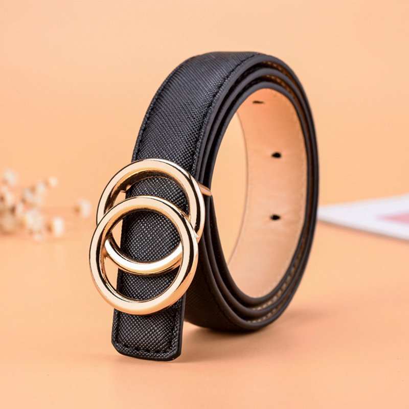 High Quality Children Black Leather Belts For Boys Girls Kids Casual Pu Waist Strap Belt Waistband For Jeans Pants Trousers