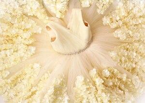 Image 5 - Tissu en dentelle 3D française blanc cassé, dentelle africaine, dentelle de haute qualité, avec perles, derniers tissus de dentelle nigériane pour mariage, M23622, 2020