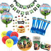 Brawls Stars Birthday Party Supplies DIY Ballons Decoration Disposable Tableware Anime Game Figure Festive Party Decor Kid Gift