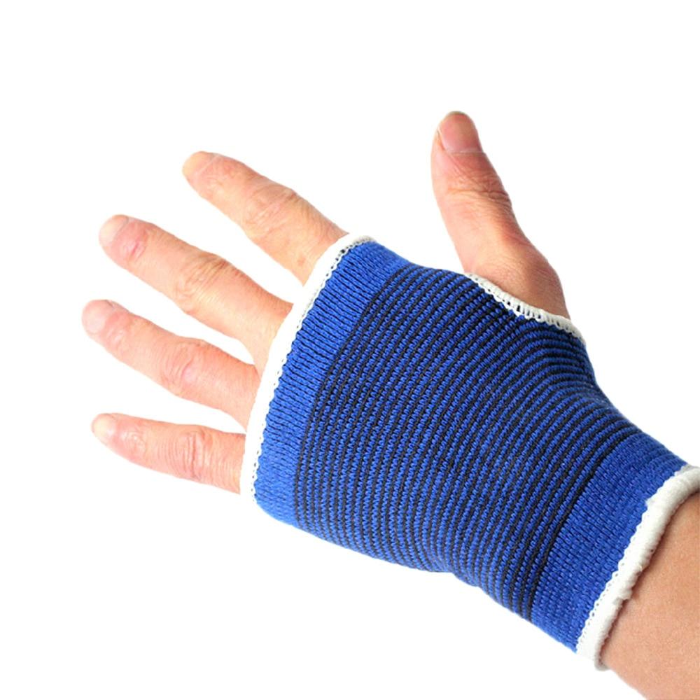 1pair Fitness Gloves Hand Protection Gym Exercise Workout Gloves Yoga Dumbbell Fingerless Gloves Knitting Breathable Soft