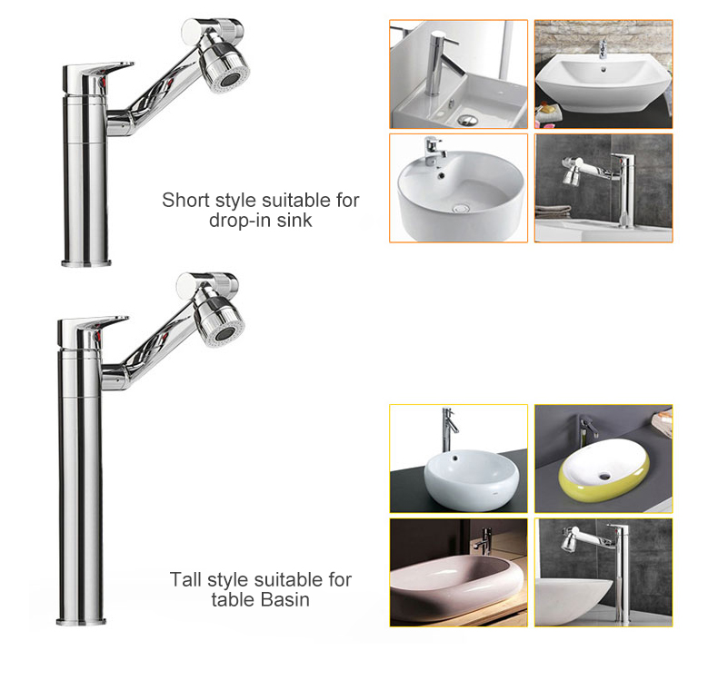 Hf01f02f0a4744b80a2d86a50f596bb38k ELLEN Multifunction Bathroom Sink Faucet Hot Cold Water Mixer Crane Antique Bronze Deck Mounted Universal Water Taps EL1326