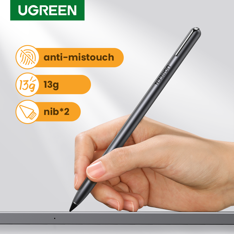 Ugreen stylet pour iPad Apple crayon stylo actif pour iPad Pro 2018 9.7 2020 2019 10.2 iPad Mini 5 Air 3 accessoires stylo tactile