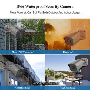 Image 5 - Techage 4CH 5MP POE NVR Kit Ai IP Camera System Two way Audio Body Human Detection Outdoor Waterproof Video Surveillance System