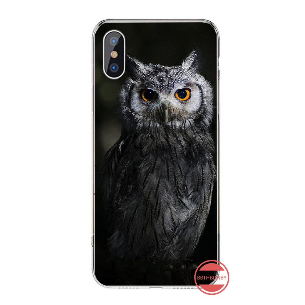 Coruja caso de telefone para iphone 4 4s 5 5s 5c se 6s 7 8 plus x xs xr 11 pro max