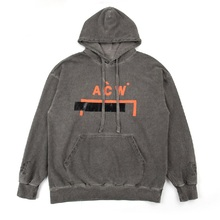 A-COLD-WALL Hoodies Men Women Streetwear High Quality Embroidery Thick Retro Do Old Washed Sweatshirt A-COLD-WALL ACW Hoodie цена 2017