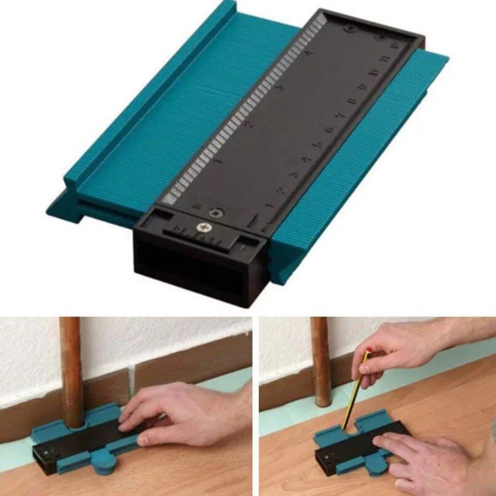 Contour Measuring Instrument Profile Copying Ruler Multifunctional Woodworking Tool Irregular Contour Gauge Arc Gauge