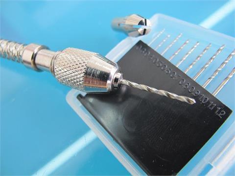 MGM M.G-80340 modelu automatyczne wiertarka ręczna 0.3-1.2mm wiertła Bit nowy