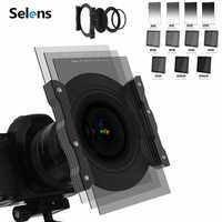 Filtro de lente ND/GND, atenuador suave de lente gradiente, anillo de conexión CPL de 86MM, soporte con anillo de 52-77MM para cámara
