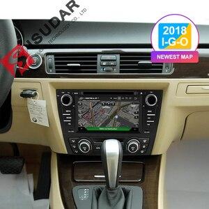 Image 2 - Isudar 2 דין אוטומטי רדיו אנדרואיד 9 עבור BMW/320/328/3 סדרת E90/E91/E92/e93 רכב מולטימדיה וידאו DVD נגן GPS ניווט DVR FM