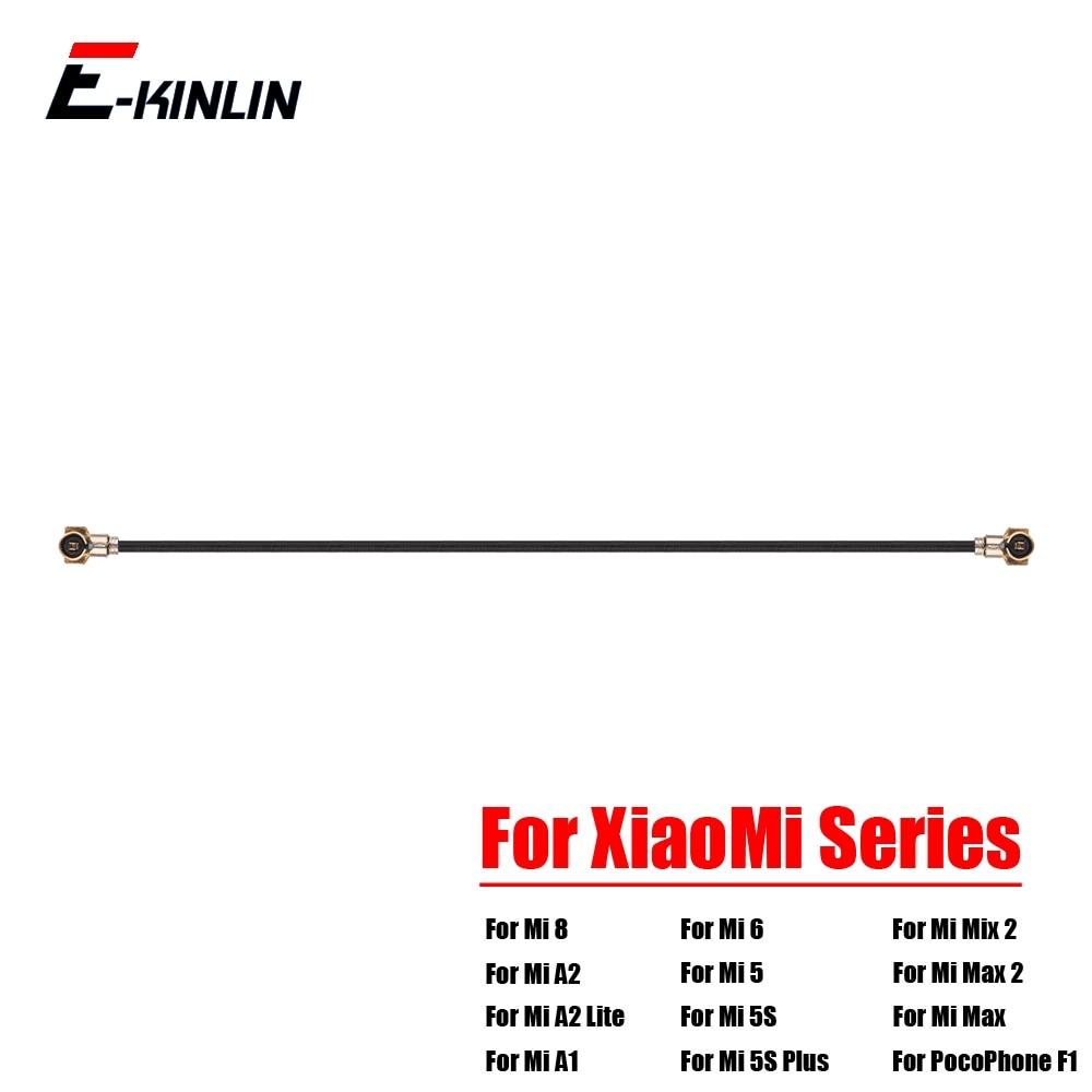 Coaxial Connector Wifi Signal Antenna Flex Cable For XiaoMi Mi 8 SE A2 A1 6 5 5S Plus 4 4S 4C 4i Mix 2S Max 2 PocoPhone F1