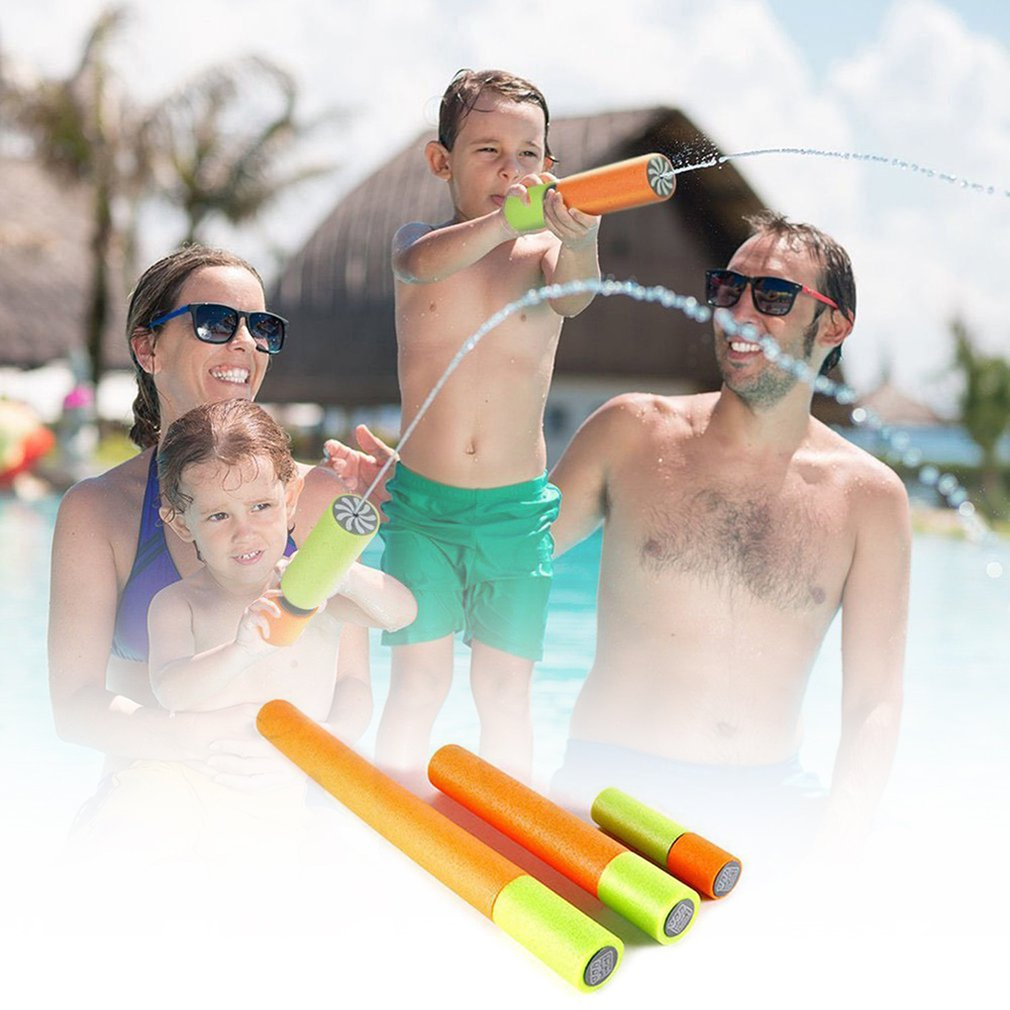 cheapest Summer Water Gun Children Toys Beach Bathing Drifting Water Toy Kids Baby Parent-child Outdoor Games Boys Girls Gifts G29