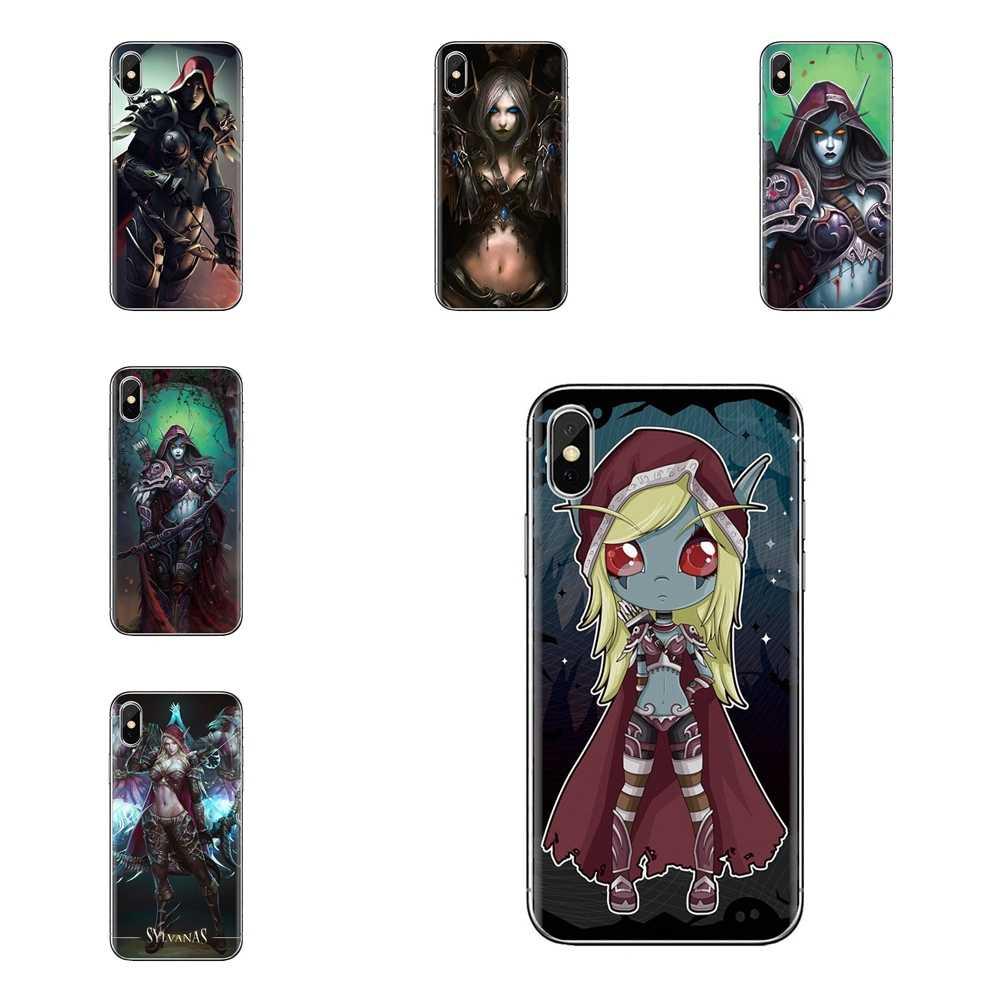 Transparan Soft Case WOW World Of Warcraft Sylvanas untuk Huawei Kehormatan 5A LYO-L21 Y6 II Kompak Y5 2 Y5II Mate 10 Lite Nova 2i 9i