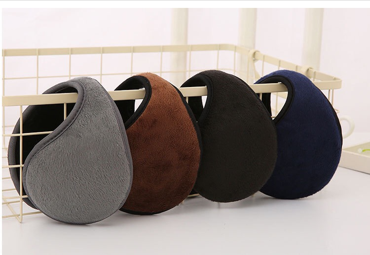 10pcs-Common Winter Warmth And Velvet Ear Warmth For Men And Women,Plush And Thicken, Soft And Warm
