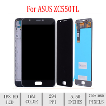 Original For ASUS Zenfone4 Max Plus ZC550TL X015D LCD Display Touch Screen Digitizer Assembly For Asus ZC550TL Display withFrame original for asus zc550tl lcd display touch screen digitizer assembl for asus zenfone 4 max plus zc550tl lcd frame x015d replace