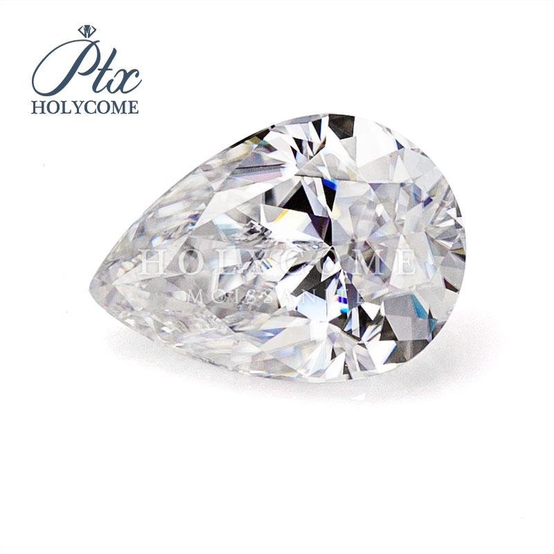 2020 Hot sale Pear cut wholesale price D color 5*8mm moissanite stones diamond gemstones Серьги кольцо браслет кольца браслет