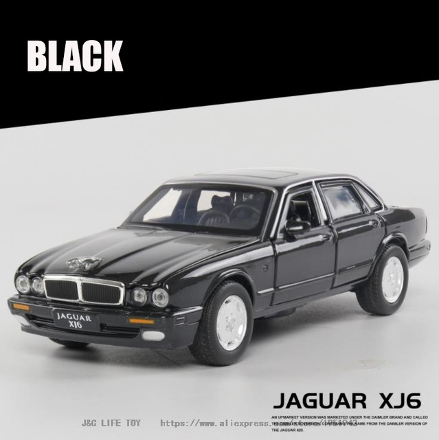 New 1:32 XJ6 Classic Alloy Car Model Diecasts & Toy Vehicles Toy Cars  Kid Toys For Children Gifts Boy Toy