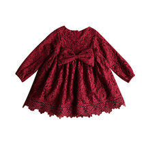 Long Sleeve Baby Girls Winter Dresses Kids Cotton Clothing Casual Dresses for 2-8 Years Children Girls Dresses