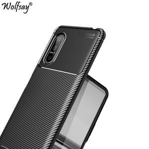 For Sony Xperia 5 II Case Bumper Silicone Carbon Fiber Shockproof Phone Case For Sony Xperia 5 II Cover Case For Sony Xperia 5II