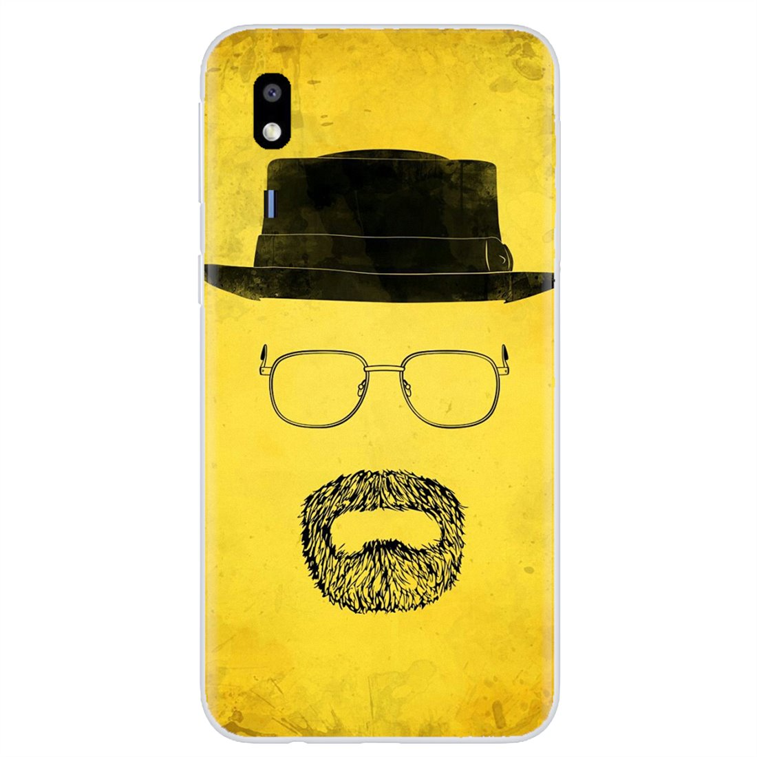 Buy Silicone Phone Case For Samsung Galaxy A10 A30 A40 A50 A60 A70 S6 Active Note 10 Plus Edge M30 Breaking Bad Chemistry Walter(China)