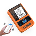 Thermische label maschine PT 51DC Bluetooth aufkleber schmuck supermarkt label drucker tragbare handheld barcode drucker-in Drucker aus Computer und Büro bei