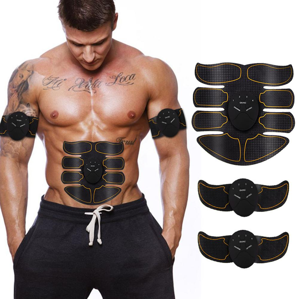 Abs And Arms Stimulator Muscle  Abdominal Muscle Training Device For Fitness Workout Home Gym Arm Leg Massage