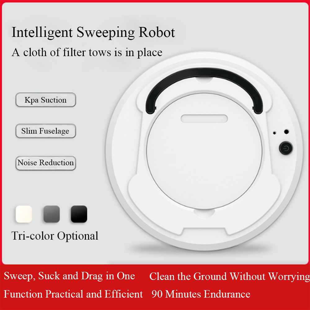 Intelligent Sweeping Robot Charging Lazy Vacuum Cleaner Small Home Appliance Cleaner Sweeper