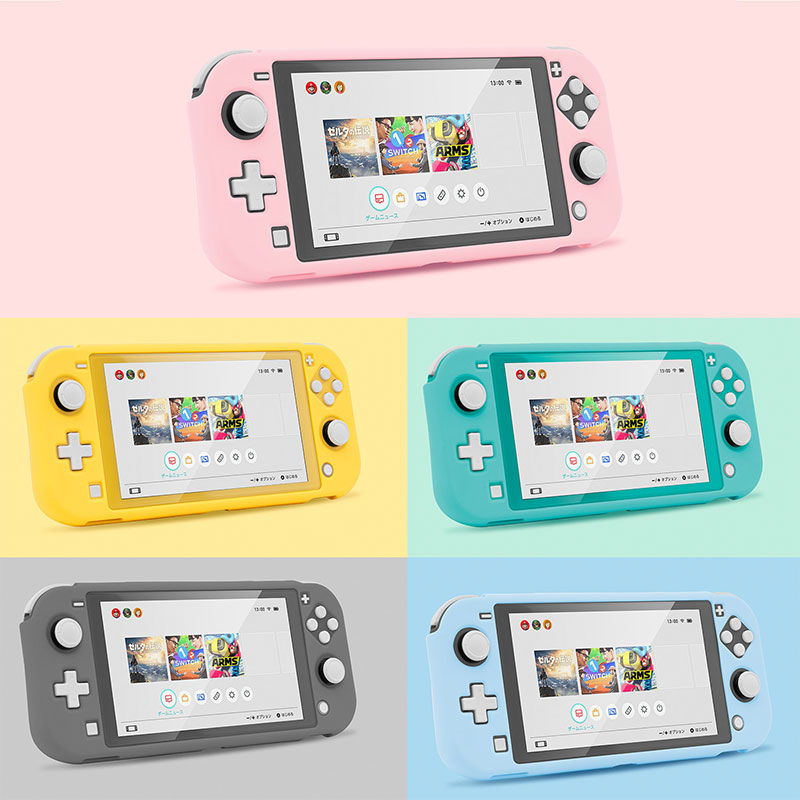 Switch Lite Protective Case Shell Colorful Cute PC Hard Cover Back Grip Shell For Nintend Switch Lite Game Console Accessories