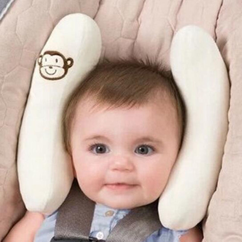 Soft Adjustable Infant Child Baby Head Protection Pad Car Seat Stroller Pillows Safety Head Neck Cushion Pad Support