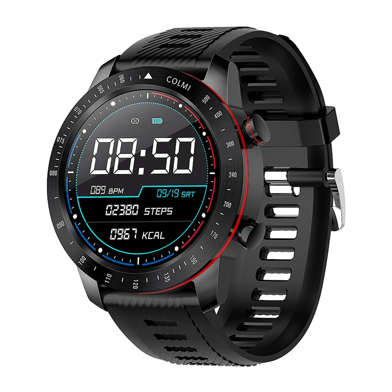 Smart Watch IP68 Waterproof Heart Rate Monitor Bluetooth Women Sport Fitness Tracker Men Smartwatch for IOS Android|Lover's Watches| |  - title=