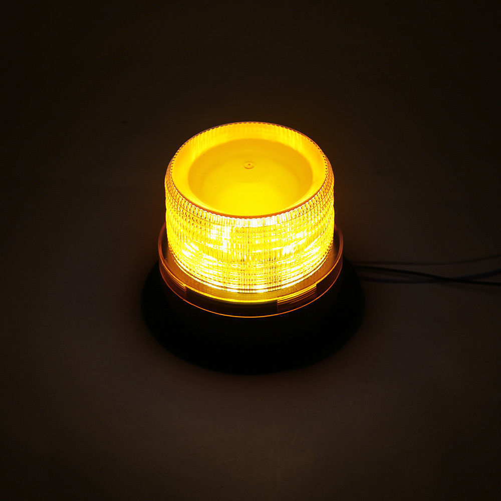 Купить с кэшбэком Emergency Flash Strobe Lamp Car Rotating Traffic Safety Warning Lights School Lights Led Yellow Round Ceiling Box Flash Lights