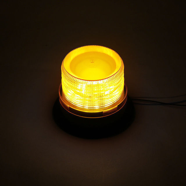 Emergency Flash Strobe Lamp Car Rotating Traffic Safety Warning Lights School Lights Led Yellow Round Ceiling Box Flash Lights 5