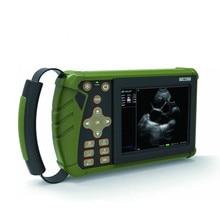 Портативный ультразвуковой аппарат для животных, ультразвуковой сканер для коровы, светодиодный Ветеринарный ультразвуковой аппарат с цифровым сигналом для сельскохозяйственных животных