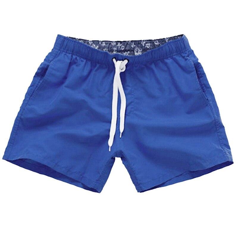 Mens Swim Shorts Summer Beach Wear Surfboard Multi Pocket Swimming Sports Trunk