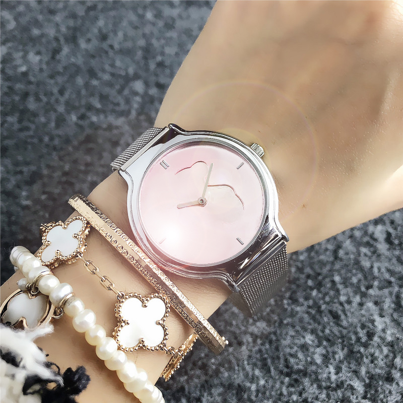Montres Femmes Or Rose Simple Mode Femmes Montre-Bracelet De Luxe Dames Touses Montre Bracelet Reloj Mujer Horloge Relogio Watch