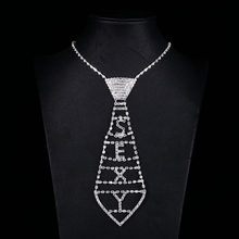 Sexy Crystal Pendant Necklaces For Women Rhinestone Choker Letters Jewellery Maxi Statement Necklace Wedding Party Accessories(China)