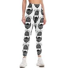 Viking Leggings Cheap Sport Yoga Pants Teenagers High Waist Prints Vintage Yoga Leggings