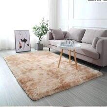 Коврики и ковровые покрытия для дома гостиной толстый плюшевый