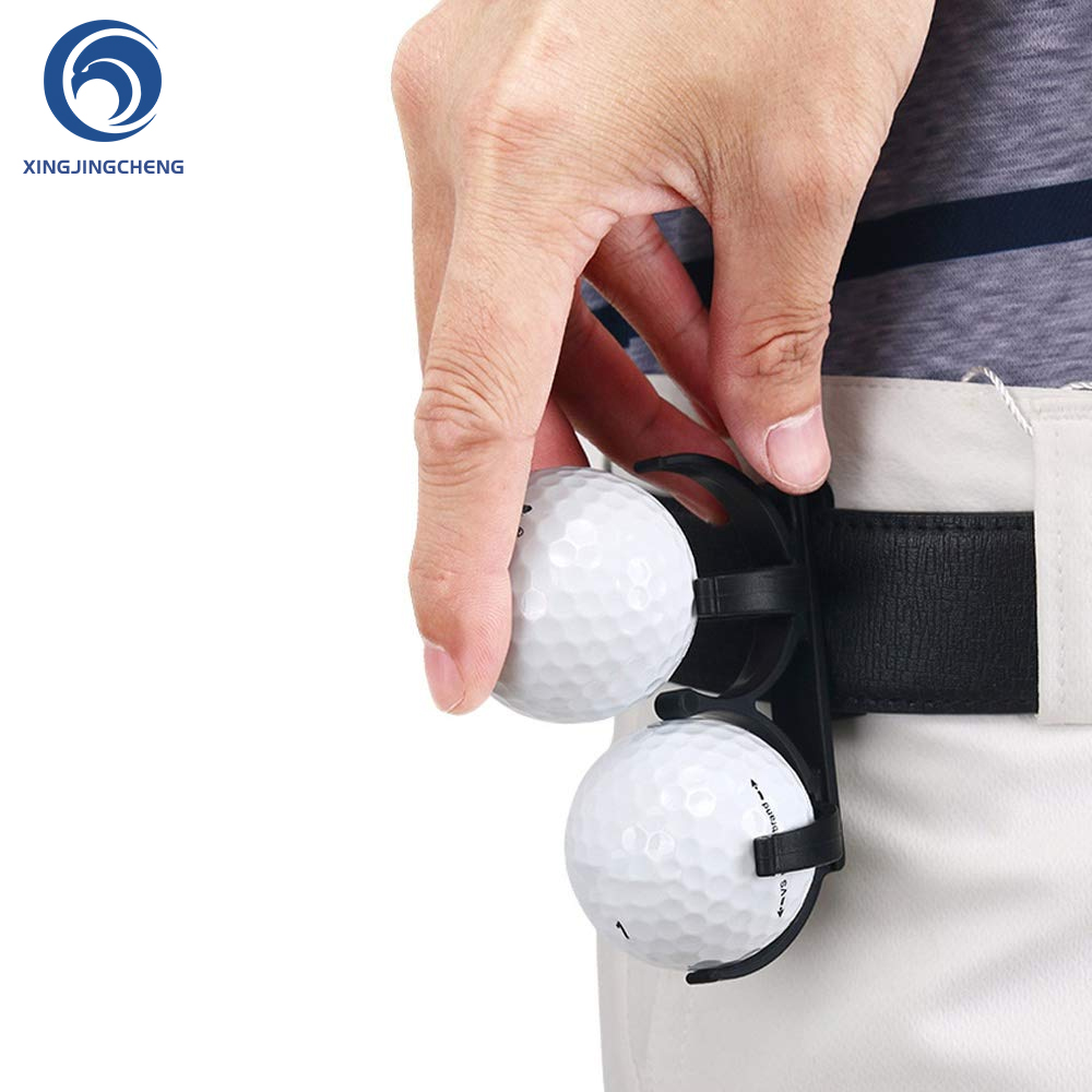 Simple Portable Lightweight Golf Ball Holder Clip Organizer Prop Magic Golfer Golfing Sporting Training Tools Accessories