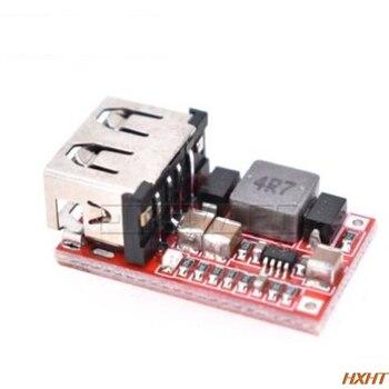 DC USB Buck Step Down Converter 6-24V 12V/24V to 5V 3A CAR Charger Module 10pcs lot mp1423dn mp1423 3a 23v 385khz step down converter