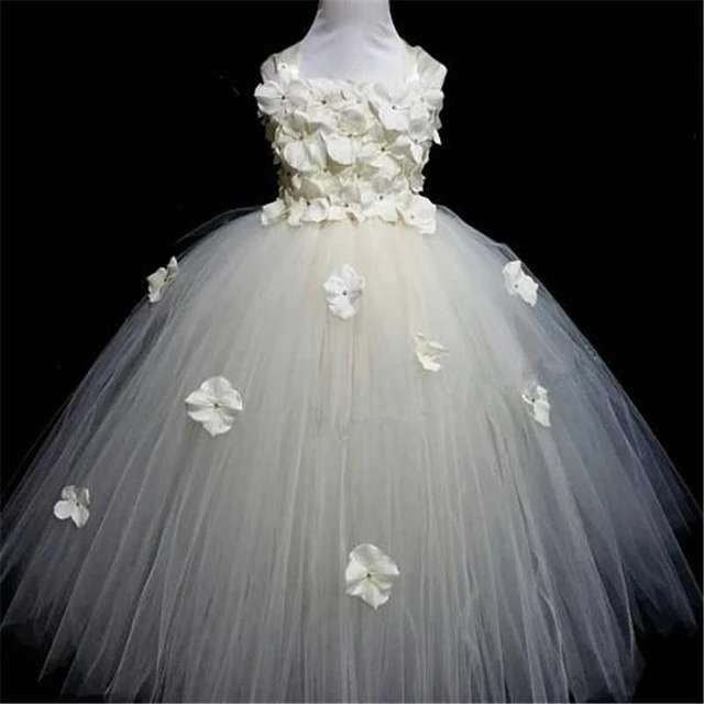 Quality Pink Princess Flower Dress 6
