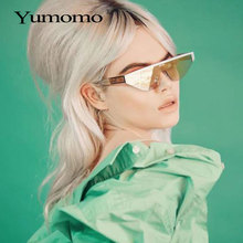 Flat Top Oversized Diamond Sunglasses Women Retro Shield Sha