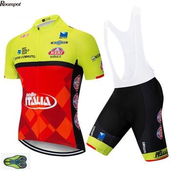 2020 equipo DE ITALIA camiseta DE Ciclismo profesional 20D Gel bicicleta pantalones...