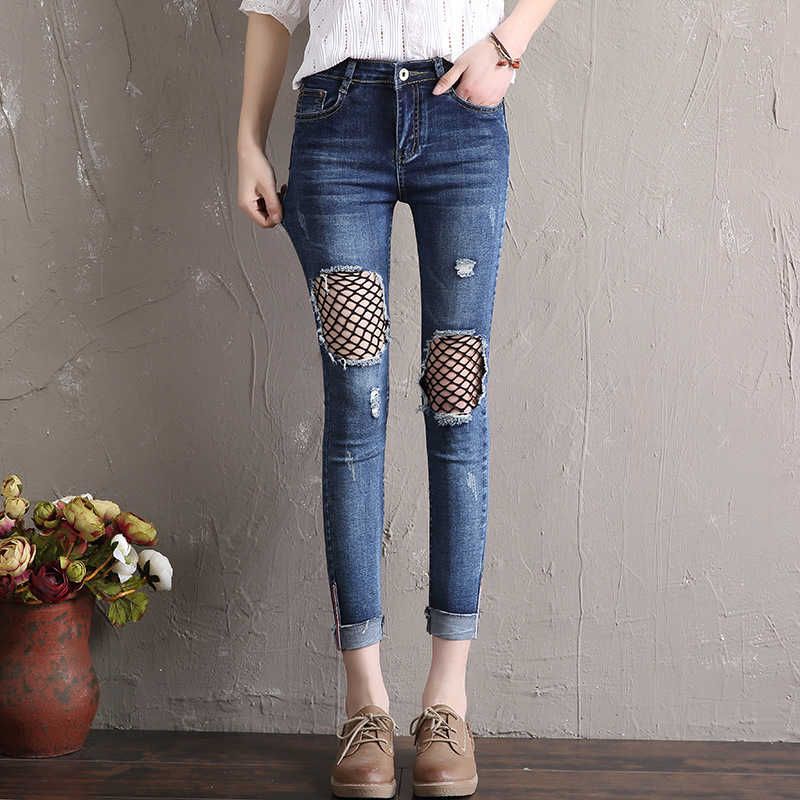 Cheap wholesale 2020 new autumn winter Hot selling women's fashion casual  Denim Pants  Y321