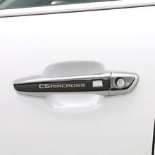 Автомобильный Стайлинг наружные двери с жалюзийными решётками ручка отделка под давлением гарнир для Citroen C5 aircross аксессуары
