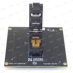 Image 5 - משלוח חינם 100% מקורי חדש DX3012 מתאם עבור XELTEK SUPERPRO 6100/6100N מתכנת DX3012 שקע