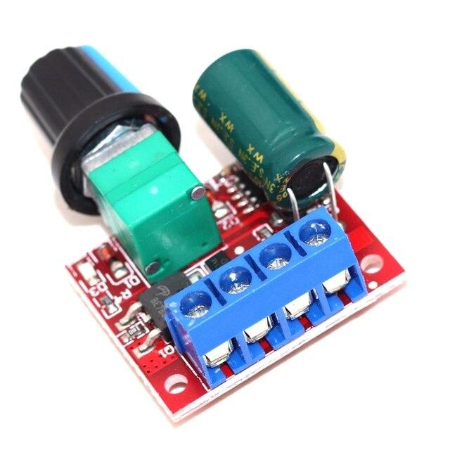 Купить pwm контроллер скорости двигателя постоянного тока 5v 35v панель картинки цена