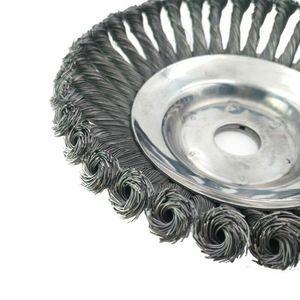 Image 5 - 25MM 8 fil dacier coupe herbe tête brosse coupe poussière disque tondeuse