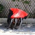 190T Wasserdicht Outdoor Indoor Protector Fahrzeug Dirt Bike Fahrrad Abdeckung 1 2 3 Staub Sonne UV protector D40