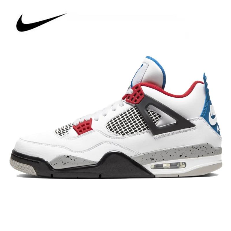 Nike Air Jordan 4 Men's Basketball Shoes Original High Top Jordan Sneakers Basketball Shoes Men Unisex Women CI1184-146